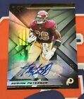 2019 Panini Xr #34 Adrian Peterson Auto Autograph 04 10 Made - Redskins