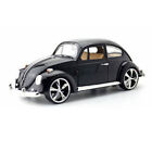 Vintage VW Beetle Superior 1967 118 Scale Model Car Diecast Vehicle Gift Black