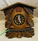 VERY RARE GDR DDR EAST GERMAN CUCKOO CLOCK CLEANED AND RUNNING