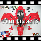 For Honda VFR800 2002-2012 Fairing Bodywork ABS Plastic Kit Red 1x1 PA
