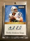ANDREW LUCK 2012 PANINI GRIDIRON KINGS AUTOGRAPH AUTO RC # 99 INDIANAPOLIS COLTS