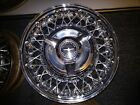 Ford or Thunderbird Wire Wheels OEM Set of 5 four with OEM Caps Not Re pops