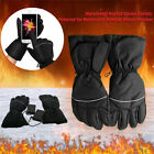 Battery Powered Motorcycle Hand Gloves Heated Muff Winter Heater Waterproof 2x