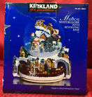 Kirkland Signature Musical Snow Waterglobe With Revolving Base Santa Sleigh