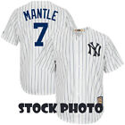 MEN'S NEW YORK YANKEES MICKEY MANTLE 5XT COOPERSTOWN COOL BASE JERSEY - LIKE NEW