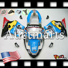 For Honda CBR600F4 Sport 1999-2000 Fairing Bodywork ABS Blue Yellow Red 1o19 PA