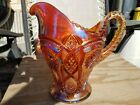 Imperial Carnival Glass Marigold Fashion Water Pitcher