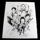 STEPHEN KINGS ROCK BOTTOM REMAINDERS SIGNED BY THE WHOLE BAND LITHOGRAPH 98 270
