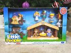 NEW LITTLE PEOPLE Childrens Nativity Set Manger Baby Jesus Mary 11 Figures