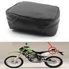 Universal Motorcycle Dirt Bike Tool Bag PU Leather Tail Storage Pouch Waterproof