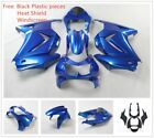 fit kawasaki ninja250r ninja250 2008 2012 fairing sets kits + windshield blue