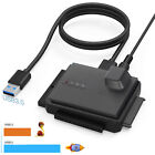 UL Listed USB 30 to IDE SATA Converter For 25 35 inch Hard Drive Disk SSD HDD