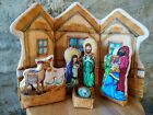 Christmas Nativity set made of Fabric