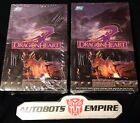 TOPPS 2 BOX DRAGON HEART Wide Vision Movie Card Set scifi Alien Marvel Toy Comic