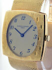 Vacheron Constantin Vintage Mens 18k Gold  Bracelet Watch Mechanical 7395