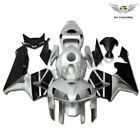 FS Injection Silver Fairing Fit for Honda 2005-2006 CBR 600RR ABS Plastic b011