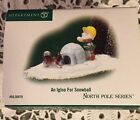 Dept 56 North Pole Series Accessory AN IGLOO FOR SNOWBALL 5656878