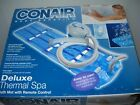 Conair MBTS6NW Deluxe Thermal Spa Soft Bath Mat W Remote Control System Massager