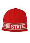 Ohio State Adult Unisex Red/White/Gray Beanie, One Size