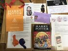 Harry Potter 7the Deathly Hallows by J K Rowling Hologram Midnight Signing Ext