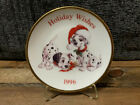 1996 Hallmark Keepsake Ornament 101 Dalmatians Collector's Plate
