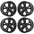 20 FORD EXPLORER SPORT GLOSS BLACK WHEELS RIMS FACTORY OEM SET 3949 EXCHANGE