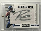 2012 Russell Wilson Gridiron Gems 299 Autographed Patch Auto Seahawks RC RPA