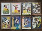 ( 2 Topps & 6 Press Pass) 2005 Aaron Rodgers RC's - Green Bay Packers