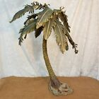 DEPARTMENT 56 Neapolitan BIG Nativity Single Palm Tree with Box Used 28 tall