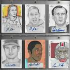 2015 Leaf Sports Heroes Masterworks Trading Cards 4