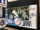 2014 McFarlane Derek Jeter New York Yankees 2 Pack Commemorative Box Set Unused