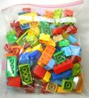 Lego Duplo Bricks Lot of 100 Various Colors Now More Types of Blocks appr 2