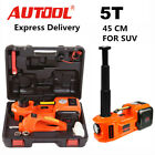 5Ton Car SUV Jacks Electric Hydraulic Floor Jack Air Inflator Pump Impact Wrench