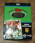 1991 Topps STADIUM CLUB FB BOX (36 Packs 12 cards per Pack) - FAVRE ROOKIE?