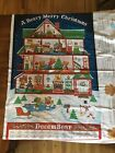 A Beary Merry Christmas Advent Calendar Fabric Brand New Unfinished