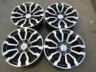 18 GMC 1500 SIERRA AT4 FACTORY OEM WHEELS RIMS SET 4 CHEVY