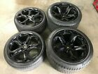 LAMBORGHINI MURCIELAGO HERCULES FRONT AND REAR WHEEL RIMS WITH TIRES SET OEM