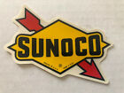 1 Sunoco NOS Decal / Sticker Race Fuel Gas Hot Rat Rod Muscle Car Drag 70s 80s