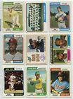 1974 74 Topps LOT YOU PICK VG SINGLES 28 2 COMPLETE YOUR SET Updated 5 18 20