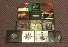 Metalcore Cds Lot Between The Buried And Me; Unearth, Chimaira 12 CD's 9 DVD's