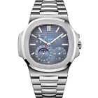 Patek Philippe 5712 Nautilus Stainless Steel Mens Watch Box/Papers 5712/1A-001