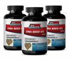 Diet Pills - Chia Seed Oil 2000mg  Supports Heart Health and Immune System 3B
