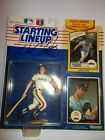 1990 WILL CLARK AUTO SIGNED SAN FRANCISCO GIANTS STARTING LINEUP + 1986 CARD