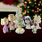 Lenox Peanuts Christmas Pageant Nativity 7 Piece Figurine Set Snoopy NEW