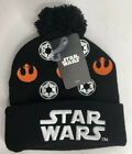 NEW Disney Star Wars Galactic Empire Rebel Alliance Embroidered Cuff Beanie Hat