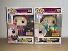 Funko Pop! Harley Quinn Boxlunch Hot Topic Exclusives Birds Of Prey + Protectors