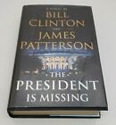 SIGNED AUTOPEN The President Is Missing by Bill Clinton and James Patterson