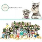 SAVANNASHOPS Dog Nativity Schnauzer Gifts Nativity Sets Dog Lover Gifts