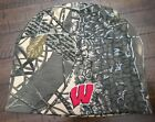 Wisconsin Badgers Camouflage Beanie Hat Adult One Size