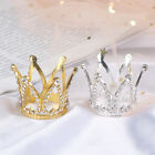 Mini Crown Princess Topper Crystal Pearl Children Hair Ornaments Party DecoBEJH